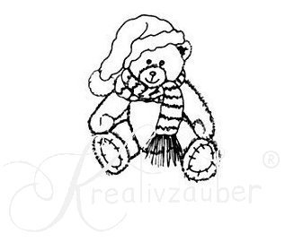 Stempel Winter-Teddy