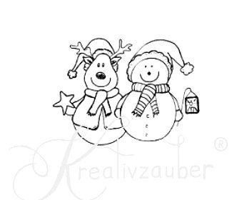 Winter Friends ★ Motivstempel