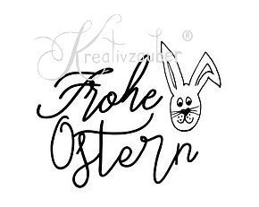 Stempel: Frohe Ostern
