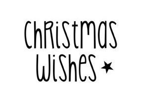 Christmas Wishes ★ Motivstempel