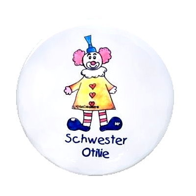 Ansteck Button Clown