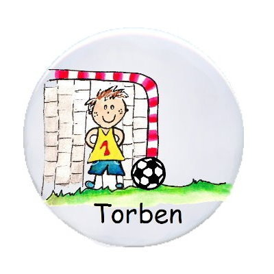 Ansteck Button Torwart