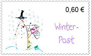 Briefmarken Winterpost