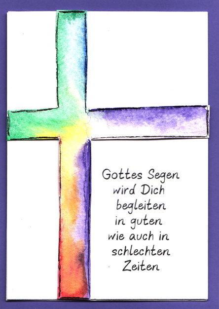 Basteln Zu Kommunion Konfirmation Taufe Kreativzauber Motivstempel Adressaufkleber Briefpapier Uhrwerk