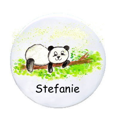 Ansteckbutton Panda