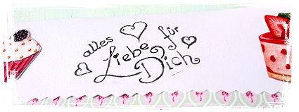 Stempel Geschenk für dich Motivstempel 48x28 Herz Etikett Geburtstag Danke