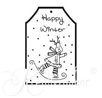 Stempel Happy Winter