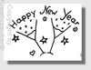 Stempel: Happy New Year